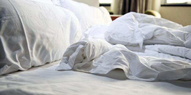 Posledice umazane posteljine za zdravje
